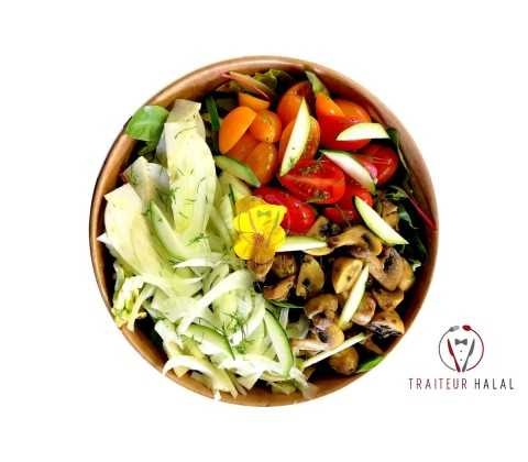 Salade Conception végétalienne
