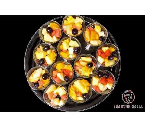 Verrines Salade de Fruits Frais