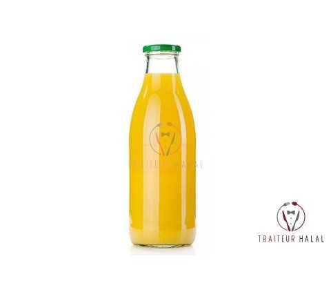 Jus d'Orange bouteille verre de 1L