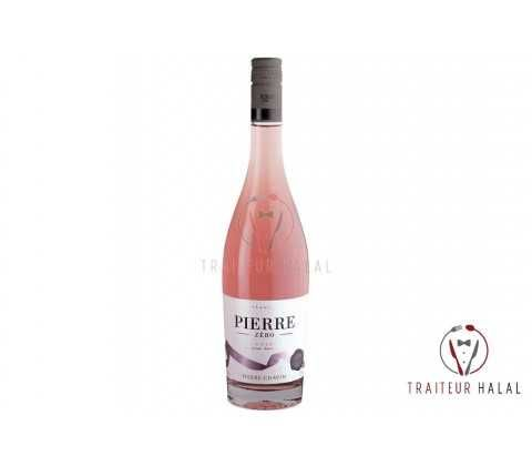 Champagne sans alcool rosé - bouteille de 75Cl