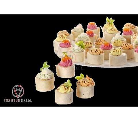 Wrappy Végétarien (100 pièces)