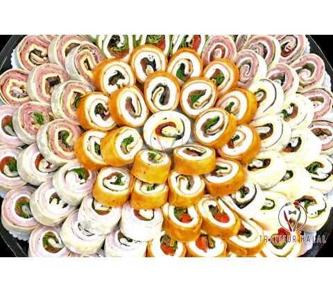 Bouchées Wraps Gouteux (200 pièces)