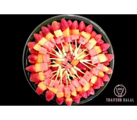 Fruits Frais en Brochette Rainbow