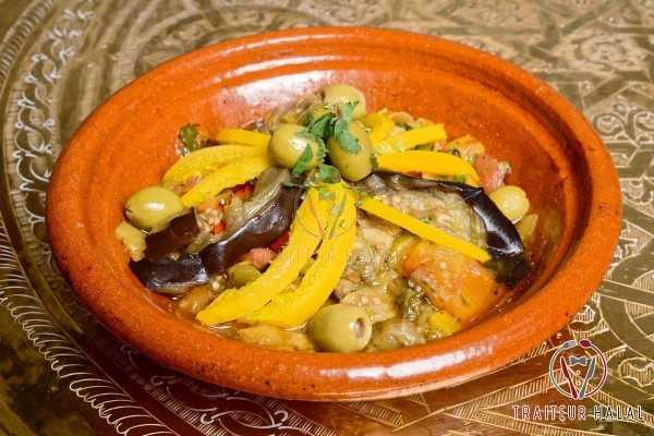 Zaalouk ou Caviar d'aubergine