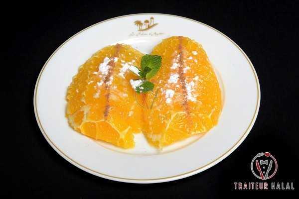 Salade d'oranges cannelle à l'orientale