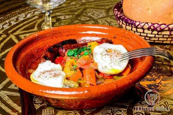 Choukchouka ou Ratatouille de Tunis en livraison et a emporter