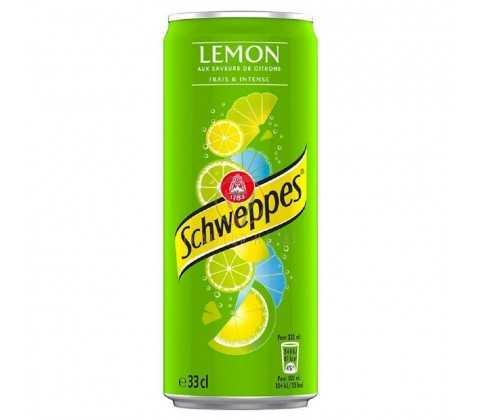 Schweppes lemon 33 cL