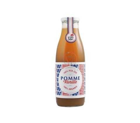 Jus de pomme vanille bio 25 cL, Pur jus de pommes françaises bio en livraison ou emporter